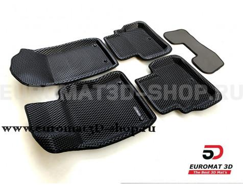 3D коврики Euromat3D EVA в салон для Infiniti Q50 (2015-) № EM3DEVA-002811