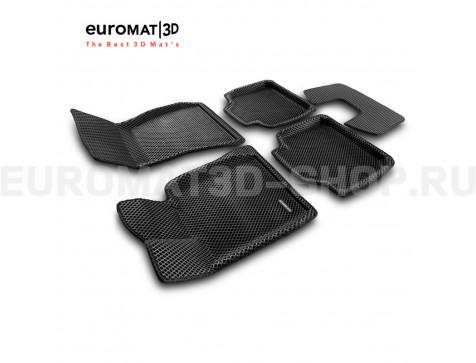 3D коврики Euromat3D EVA в салон для Bmw 3 GT (F34) № EM3DEVA-001216