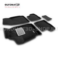 Текстильные 3D коврики Euromat3D Lux в салон для Renault Duster (2021-) № EM3D-004212